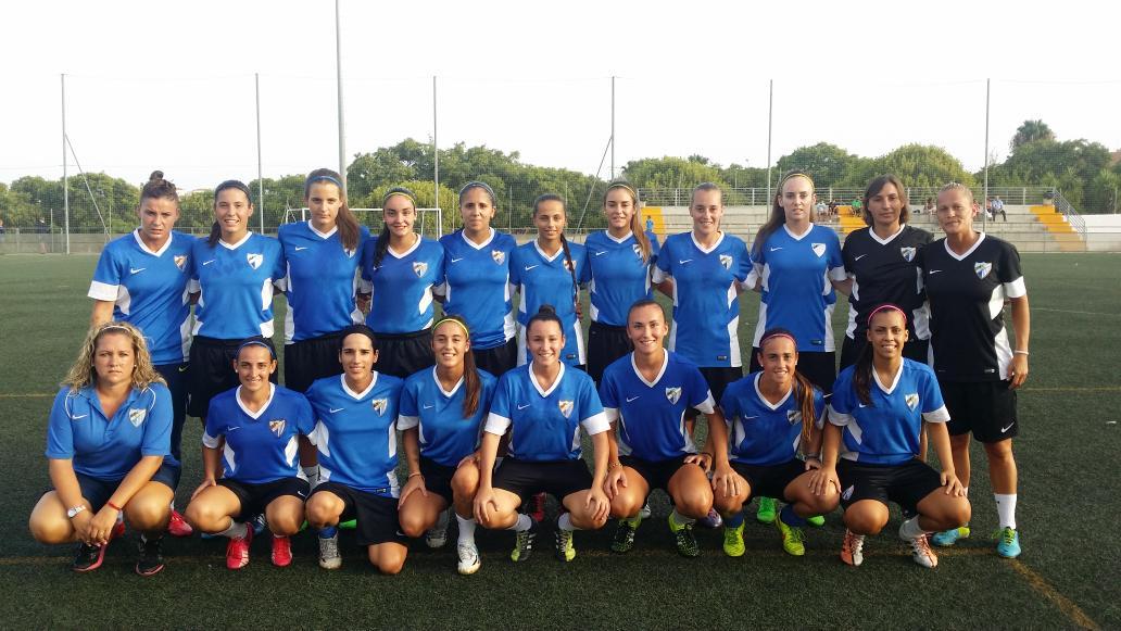 Los equipos femeninos del MálagaCF comienzan su pretemporada 15/16 CL_EufkWsAASD9D