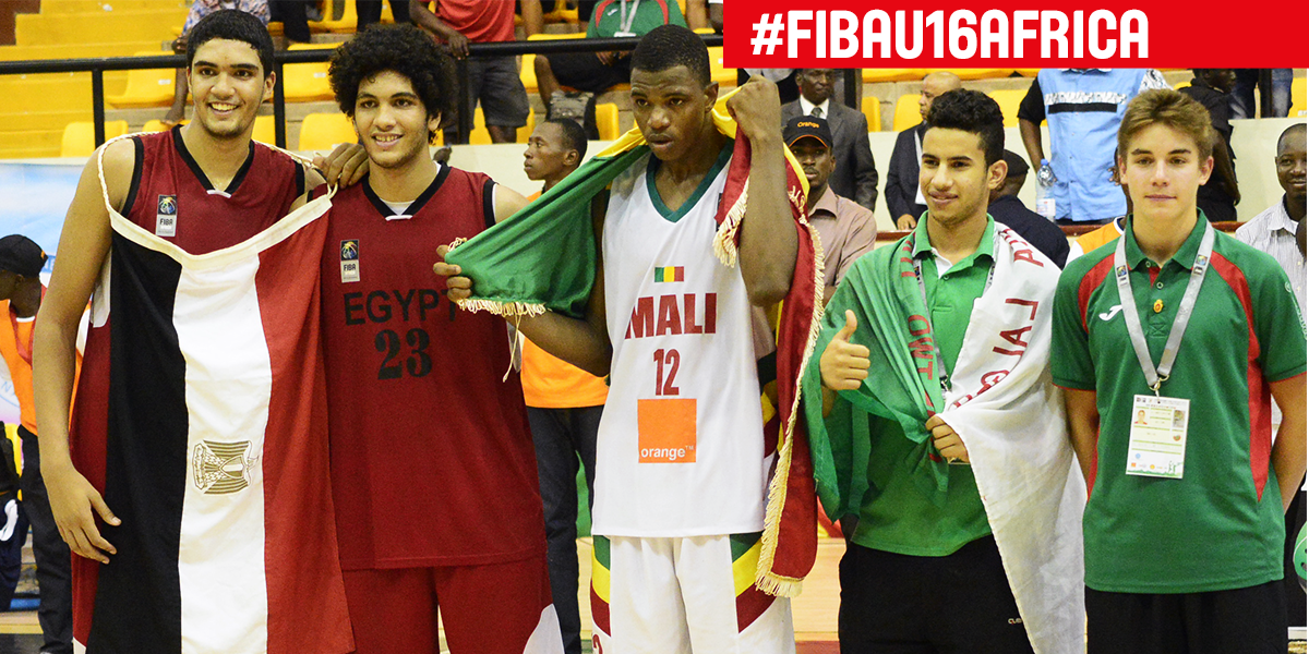 "FIBA on Twitter: ""Khalaf Ahmed, Mostafa Esam, Coulibaly ..."