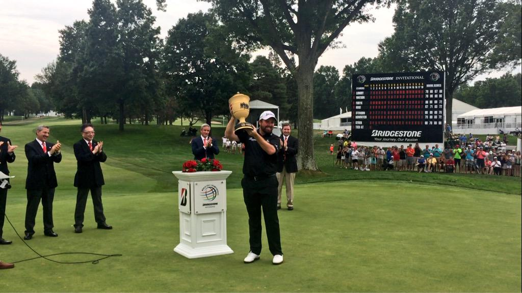 """I can't believe I'm standing here as champion."" - @ShaneLowryGolf #BridgestoneInv http://t.co/IKWnggLuJu"