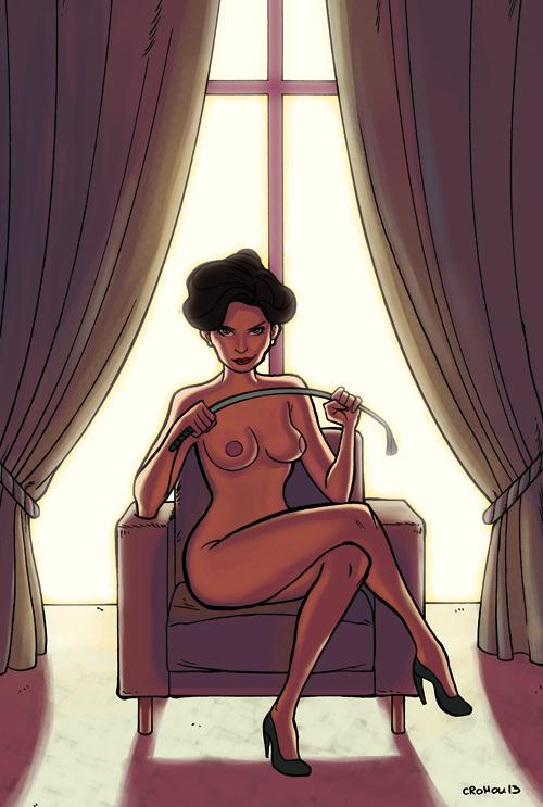 Sherlock star empowered by nudity