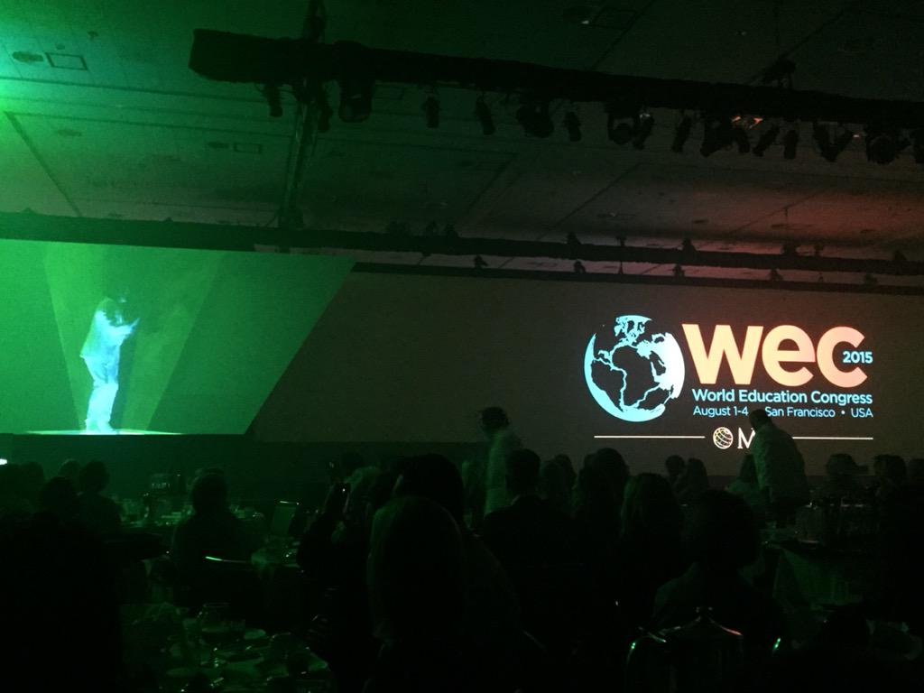 #wec15 getting kicked off with super high energy opening session. #pumpedup http://t.co/mJJVdZApAM