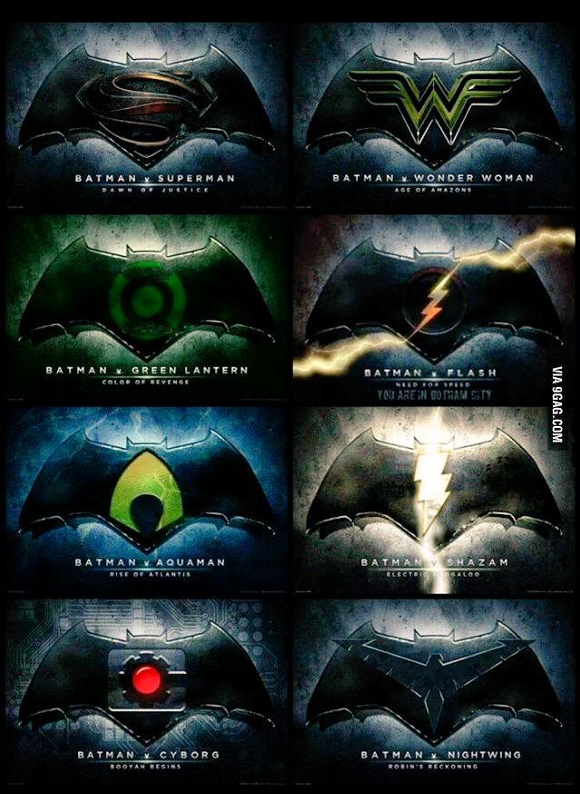 Batman VS everyone in the Justice League. #BatmanvSuperman http://t.co/q7amb9DqaD