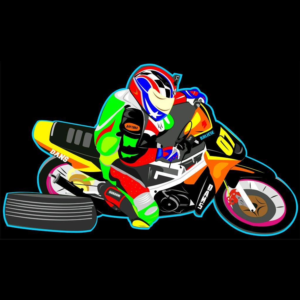560+ Gambar Kartun Joki Drag HD Terbaru