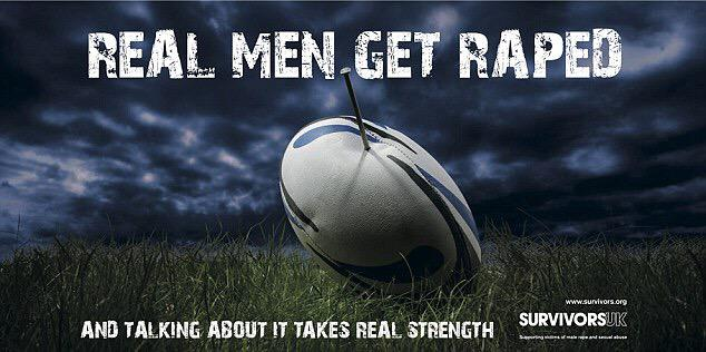 So @SurvivorsUK launched campaign during Rugby World Cup to start a new discussion about men & tape #clearlinesfest http://t.co/VA2MfIll92