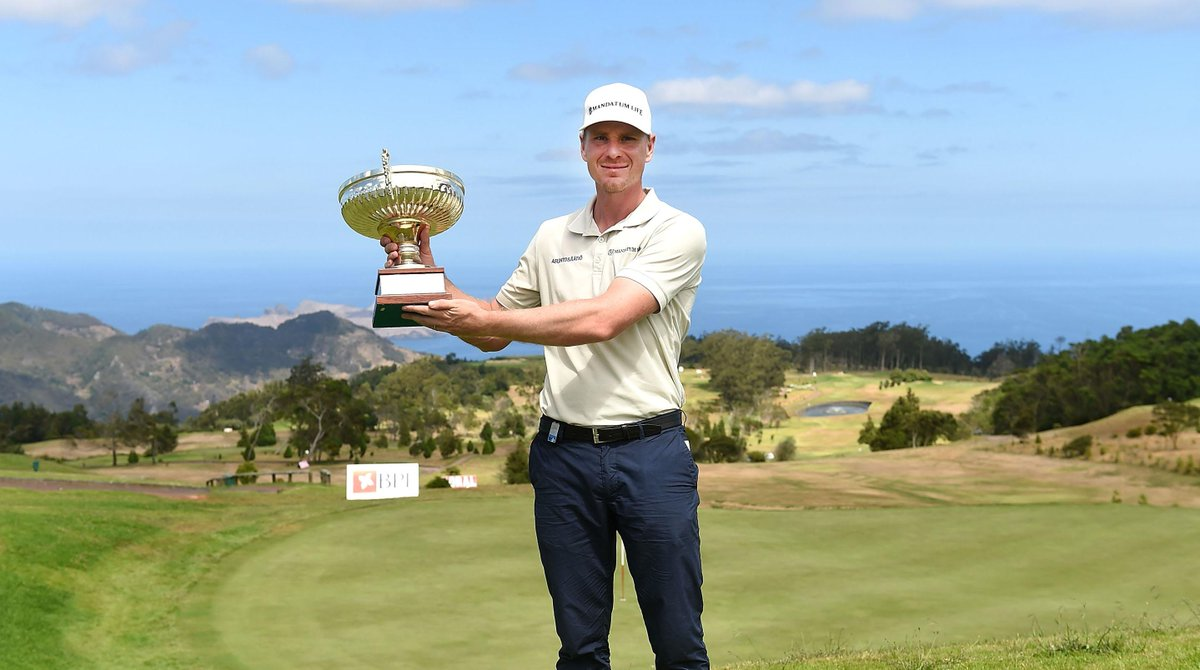 Congratulations @RKakko, winner of the #MaderiaIslandsOpen. His first European Tour win. http://t.co/9y8vLqen0I