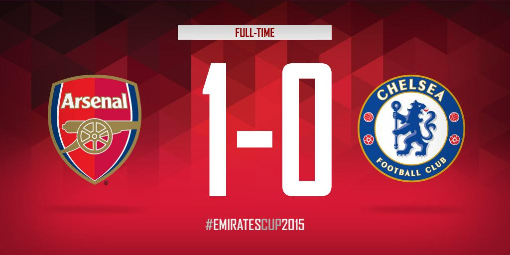.@Arsenal have won the Community Shield! #AFCvCFC