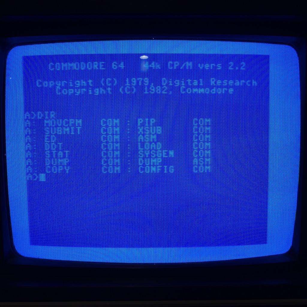 C64 CP/M Cartridge Booted