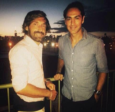È sempre un piacere amico mio...@Pirlo_official @MLS @NYCFC #friends