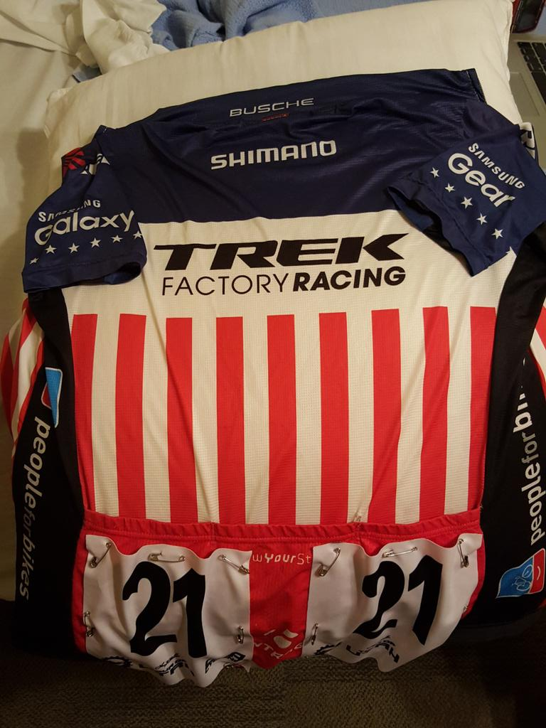 Excited to get the stars and stripes back to racing again tomorrow in @TourofUtah. Going to be a fun and tough week! http://t.co/a38zCgFydq