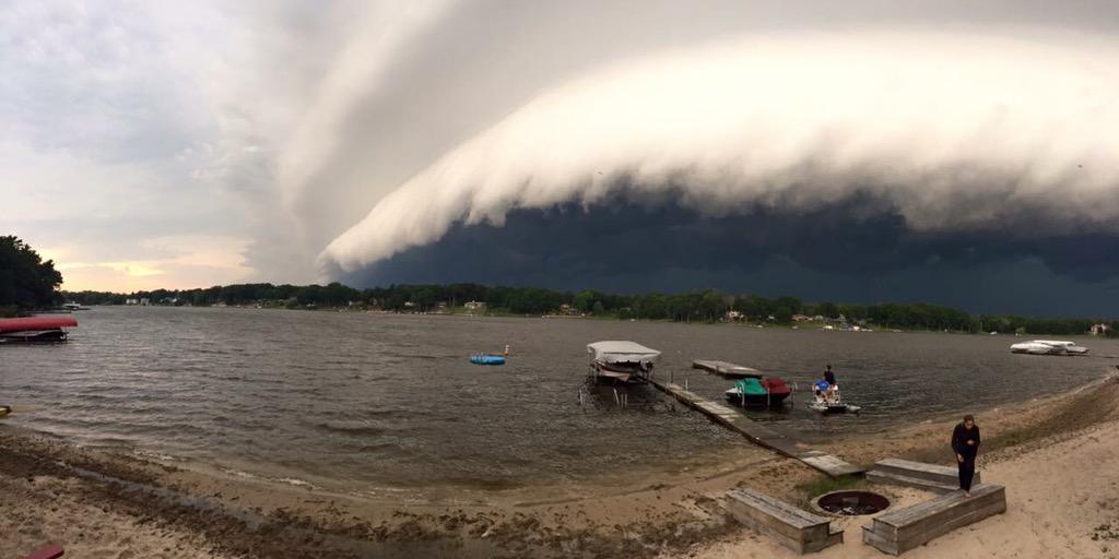 Bear Lake, Muskegon, MI @PureMichigan @aaronofseyer @alananehring #MichiganMonsoon http://t.co/kRBeJrduTL