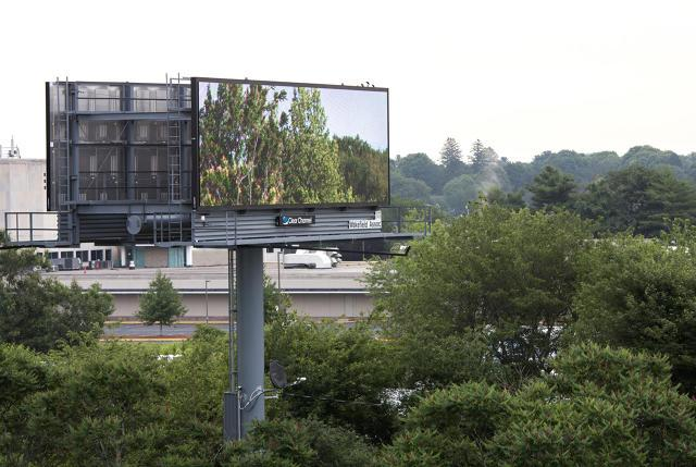 These highway billboards show trees and the night sky where the ads should be http://t.co/MyopkcbM5L http://t.co/kkRPQTmxcL