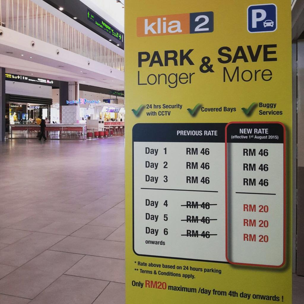 """Car Theft Escape Parking: Malaysia Airports On Twitter: """"Park Longer And Save More"""