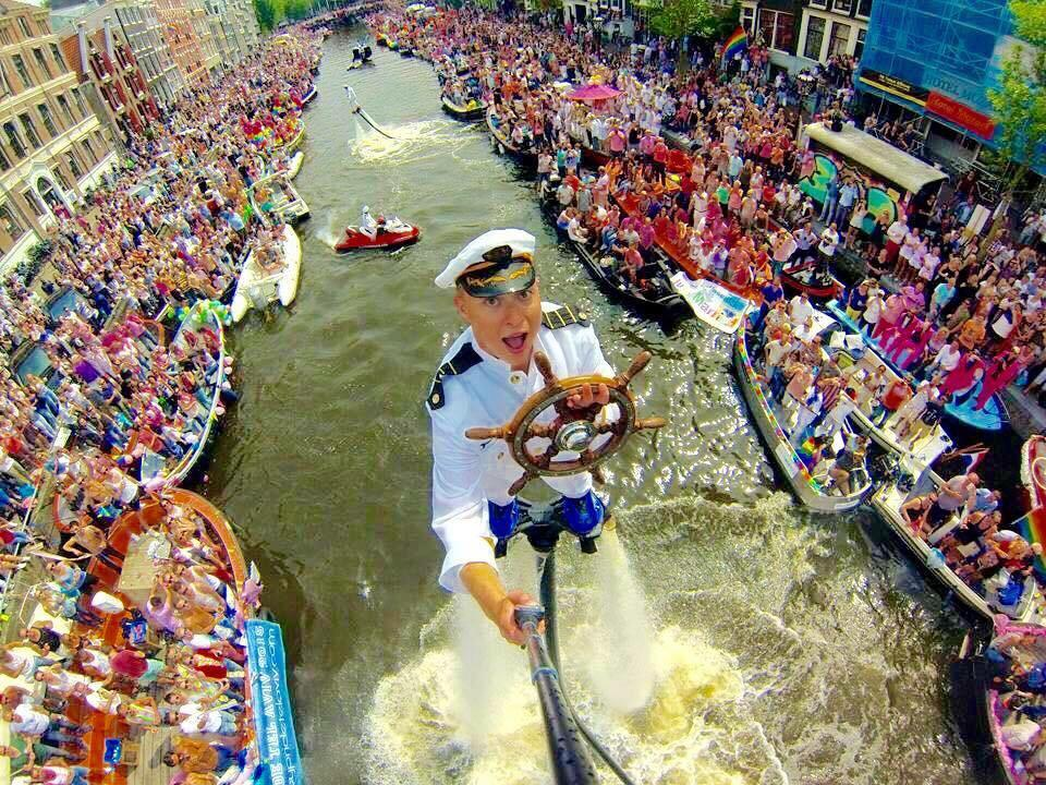 #AmsterdamPride 2015. Best #selfie ever! ;) http://t.co/03HjHa8f7o