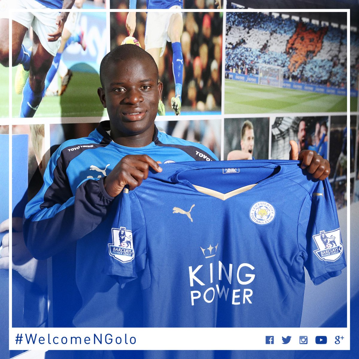 "Leicester City on Twitter ""BREAKING N Golo Kanté pletes his"