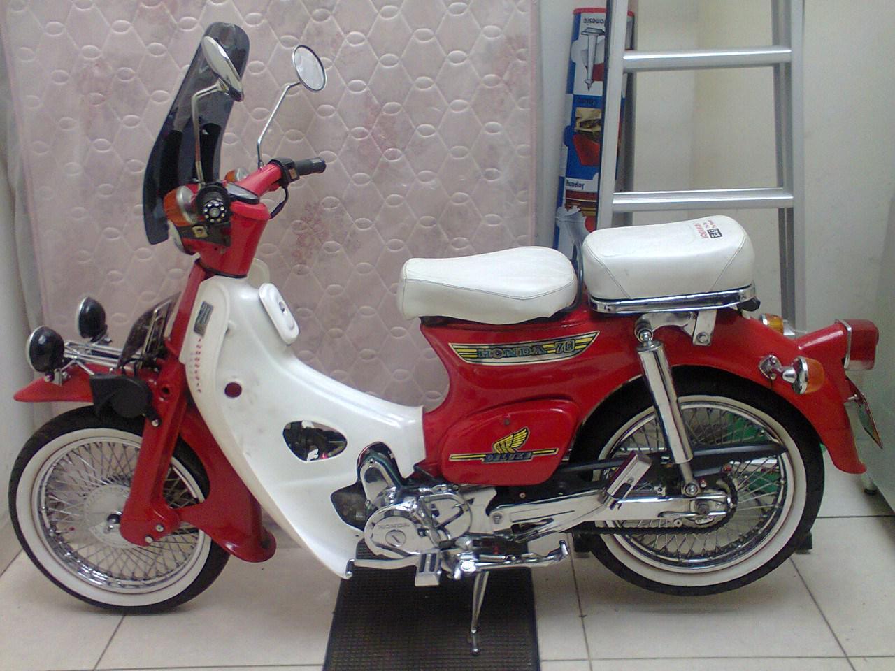 Top Modifikasi Motor Honda 70 Terbaru Modifikasi Motor Japstyle