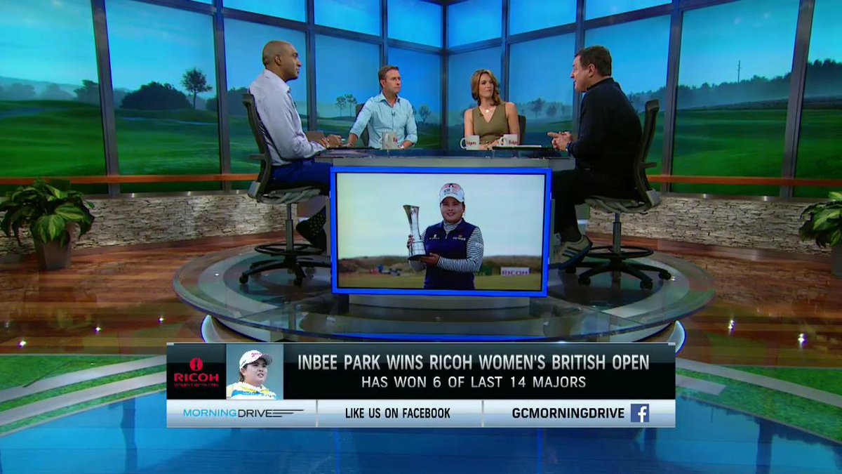 The most dominant female golfer? The crew breaks down Inbee Park's seventh major victory: http://t.co/8PYVi9pVHM