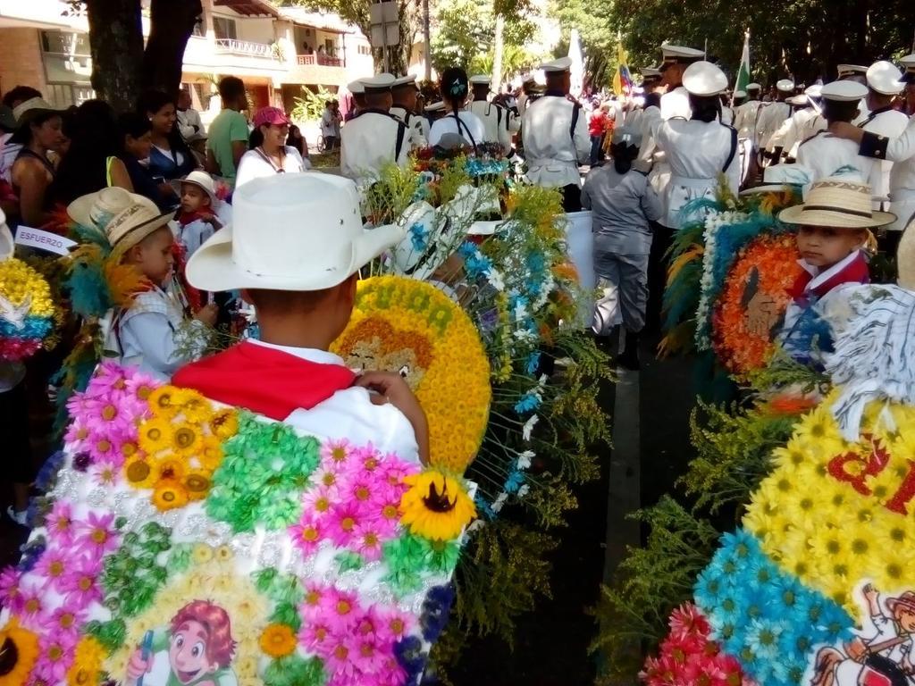 Desfile de silleteritos 2015