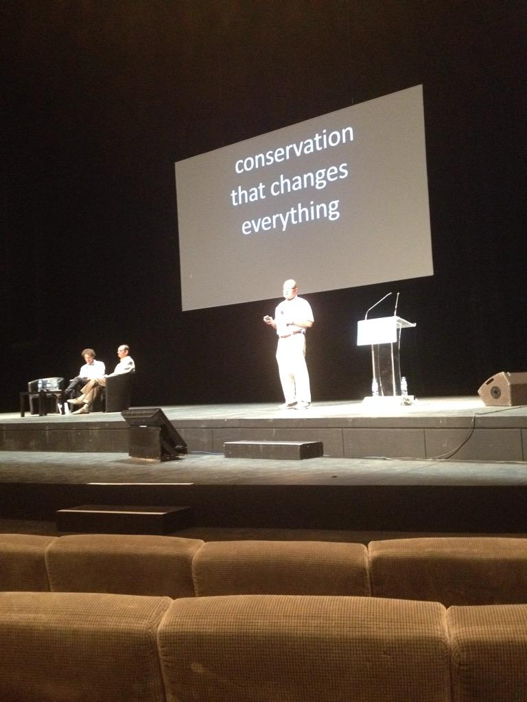 Showtime! P.Kareiva and C.Spash to discuss the value baselines of conservation #ICCB2015 http://t.co/GMSNEdraTd