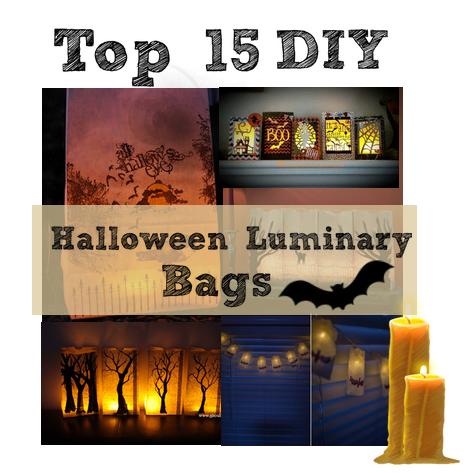 Halloween Luminary Bags DIY