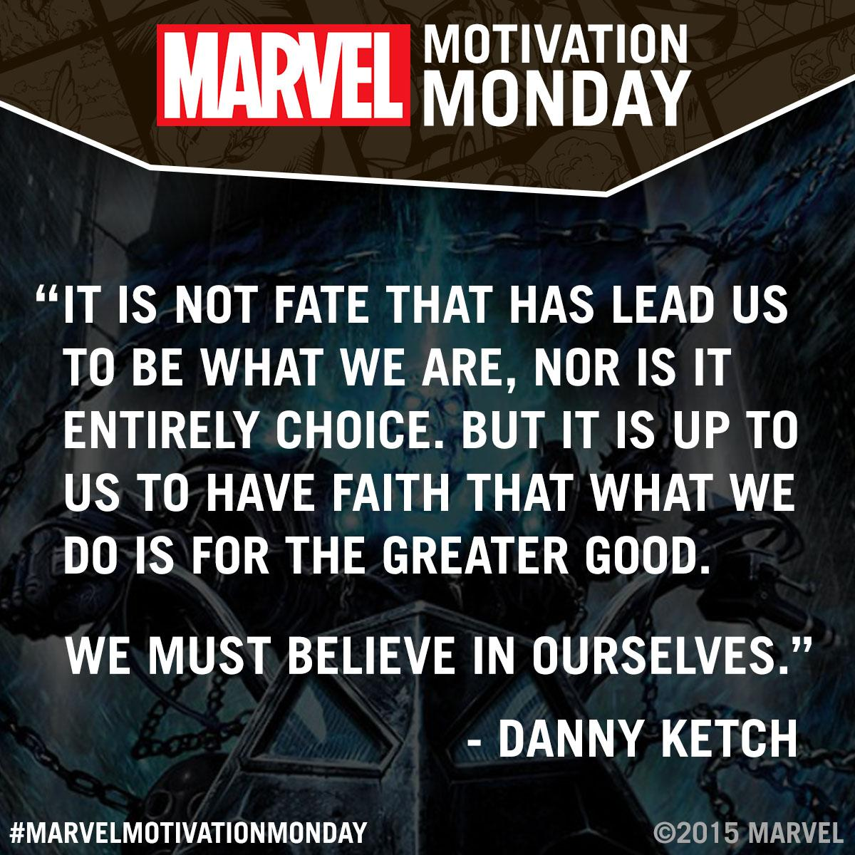 "Motivational Mondays Quotes: Marvel Entertainment On Twitter: ""#MarvelMotivationMonday"