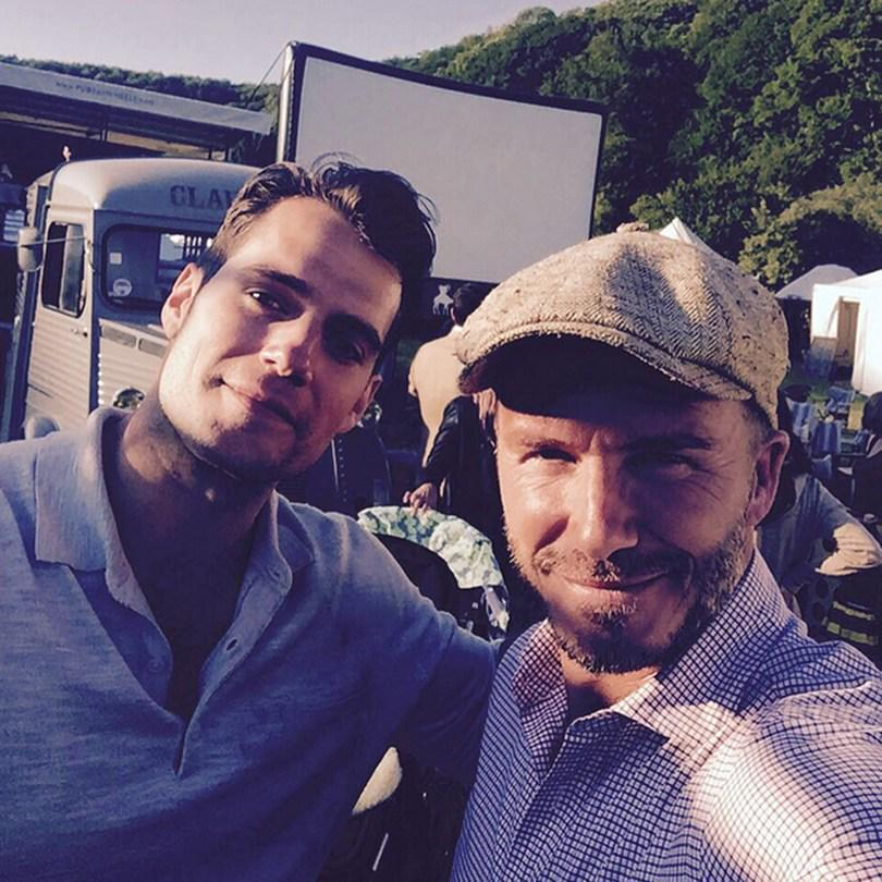 Find out why David Beckham was hanging out with Superman (sorry, Henry Cavill) this weekend: http://t.co/teBP88gdxq http://t.co/XUWqjNA6ow