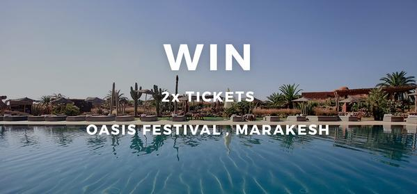 WIN 2 x tickets to @theoasisfest & party in African paradise with your mates! Enter here: http://t.co/XQiDhvMs4s http://t.co/WqCGJEygIl