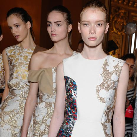 Patterned brocades and rich lurex consciously clash in our #Winter15 collection > http://t.co/xuiPN2HOyh http://t.co/Bew9RZ2a6a
