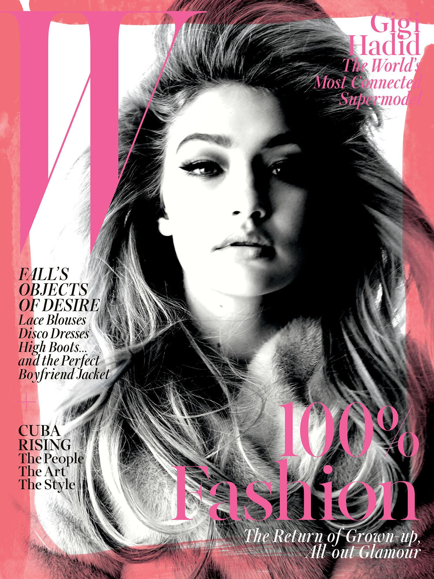 It's here! Get a first look at W's September issue, starring the one and only @GigiHadid: http://t.co/K7k1nqpiCt http://t.co/Vy9Gdwd5Iy