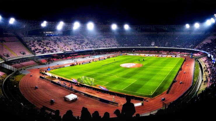 Napoli-Sampdoria come vedere Streaming Diretta TV oggi (Partite calcio Gratis Serie A)