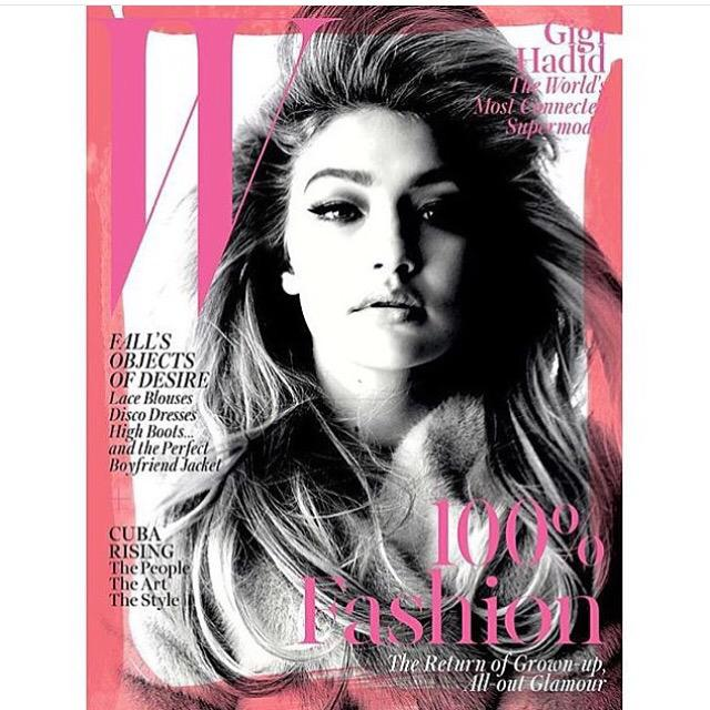 RT @Ivanmbart: Autumn is early!  And August brings Sept covers. Here's a winner! @gigihadid @wmag @edward_enninful 📷 #StevenMeisel http://t…