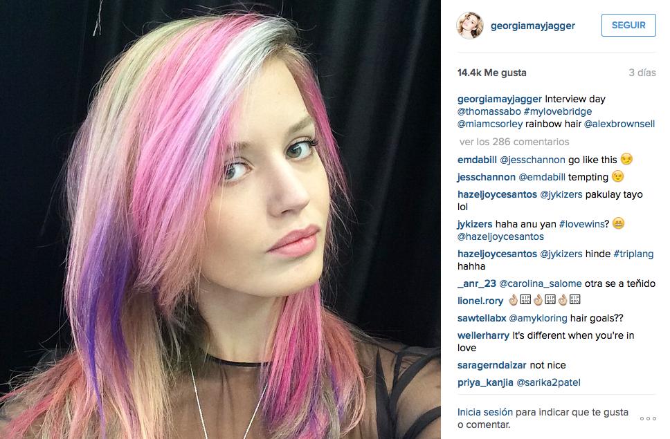 30 ideas para lucir el cabello de colores (como @GeorgiaMJagger). http://t.co/5qvGvhlk0z http://t.co/G5tj9Zbust