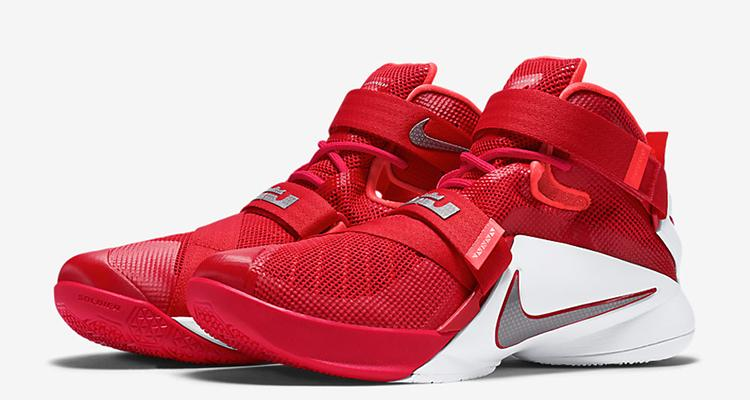 new product 1a71b bf2de Ohio State Colors Land On the Nike LeBron Soldier 9 http   t.