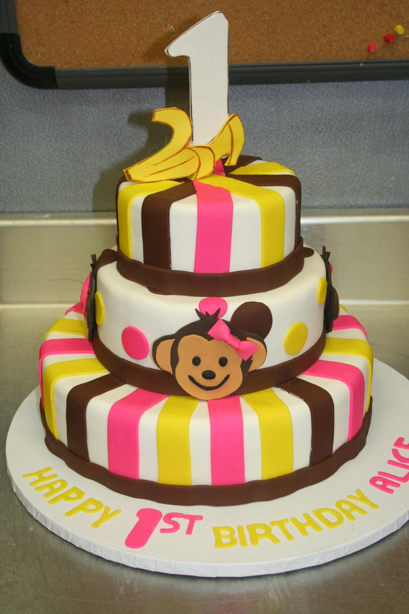 Strange Dana Herbert On Twitter Alice Monkey 1St Birthday Cake By Personalised Birthday Cards Petedlily Jamesorg