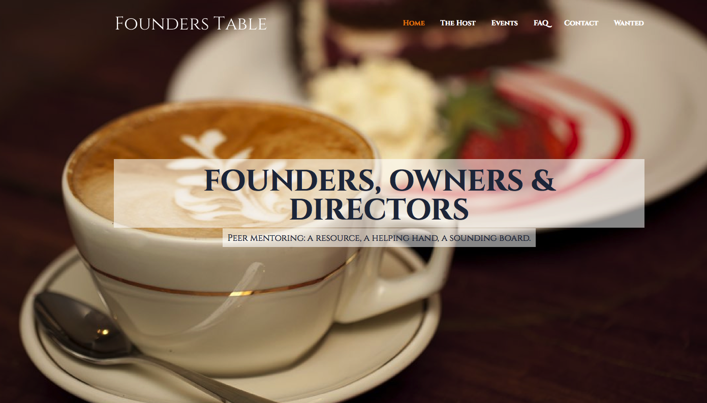 RT @FoundersTable: Semi retired and senior finance, IT, HR, marketing, general management? Like afternoon teas? http://t.co/4UKMZEJySN http…