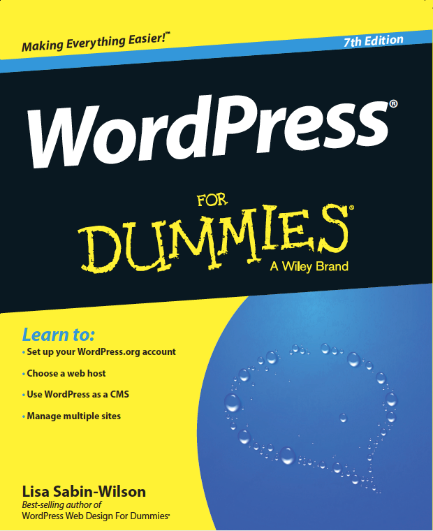 #WordPress For Dummies 7th Edition released today and available on Amazon http://t.co/XhGbua942M http://t.co/aNJFDF4OZM