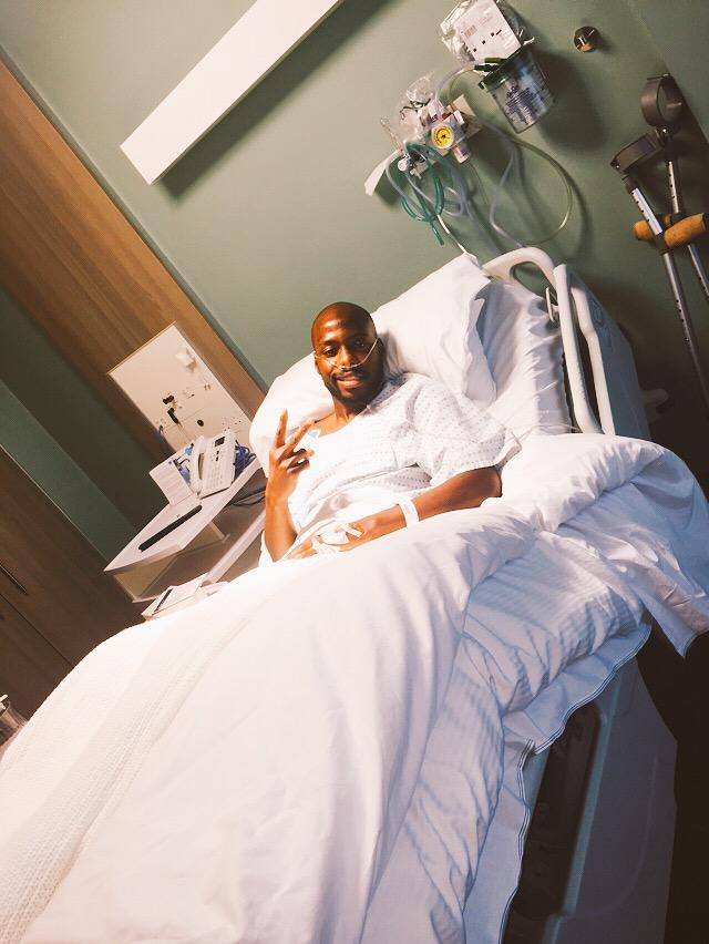 Thank you for your support and your http://t.co/4meaMw945g went real well, and I will be back on the field stronger http://t.co/tPFLXFCDeH