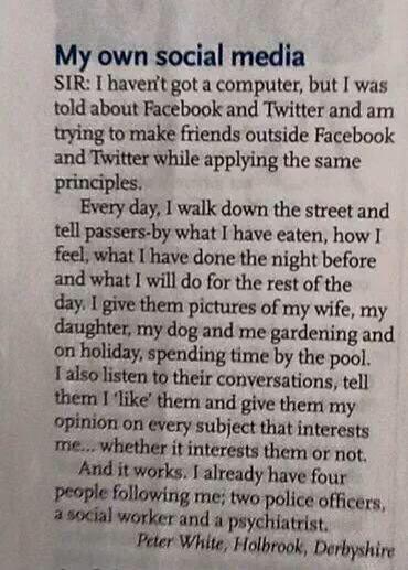 Social media summed up nicely