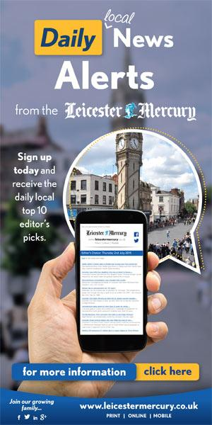 RT @Leicester_Merc: Free news alerts from the Leicester Mercury - sign up today http://t.co/Y3ZZdiwBhq http://t.co/JFeWmUgXbY