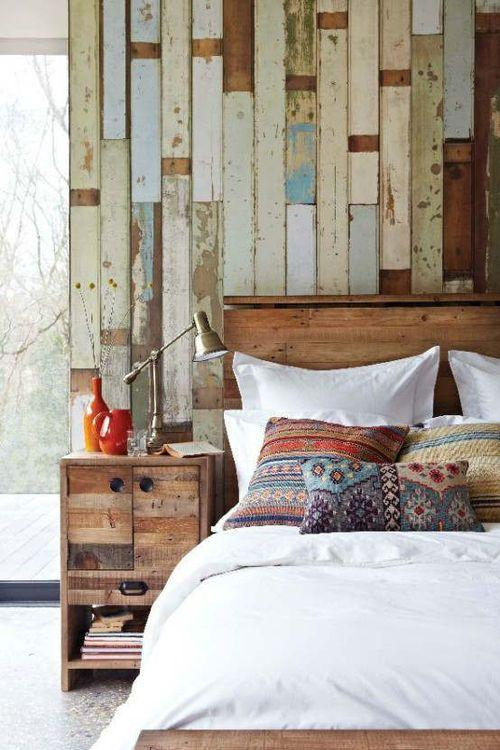 ... #ikea #decor Please RT:  Http://www.ikeadecora.com/interior Design/wunderschone Holzwand  Hinter Dem Bett Schlafzimmer In Natur Optik Https31 Media Tumblr ...
