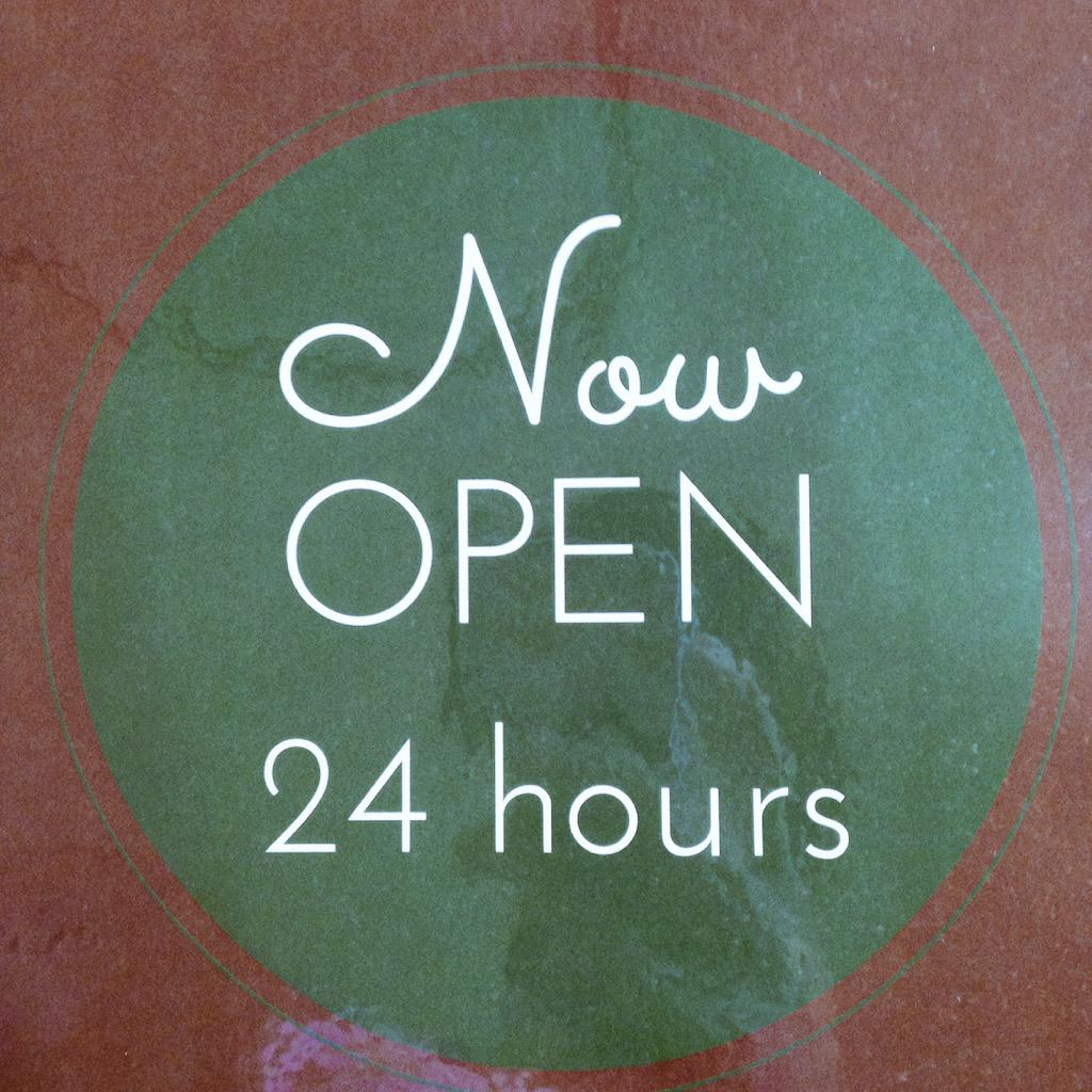 Starbucks open 24 hours