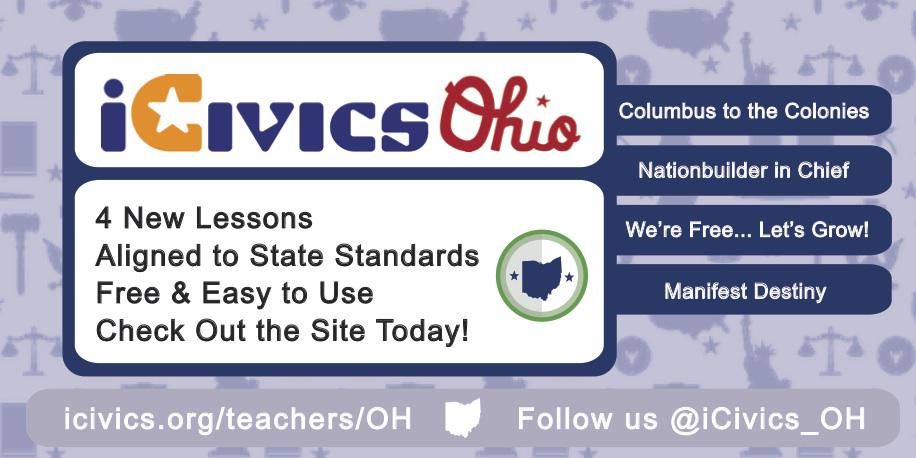 Planning for SY '15-16? Teach civics or social studies in Ohio? Visit @iCivics_OH: http://t.co/0ecoZLj4Gj  #sschat http://t.co/jWUB1Y9RRg