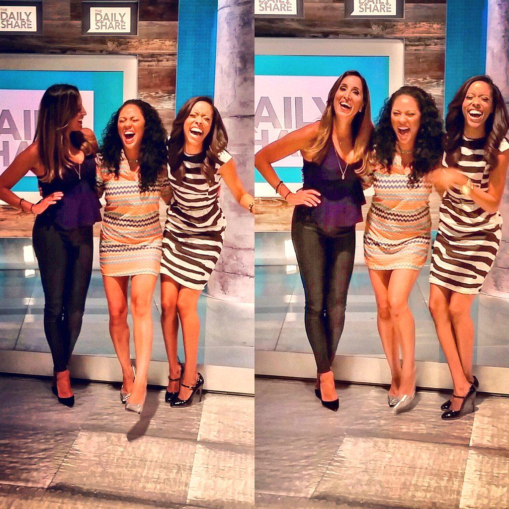 Can you call it work when it's this much fun? via @TheDailyShare #TVFamily #HLN #Candid #MondayMotivation http://t.co/lW6ff2R7M2