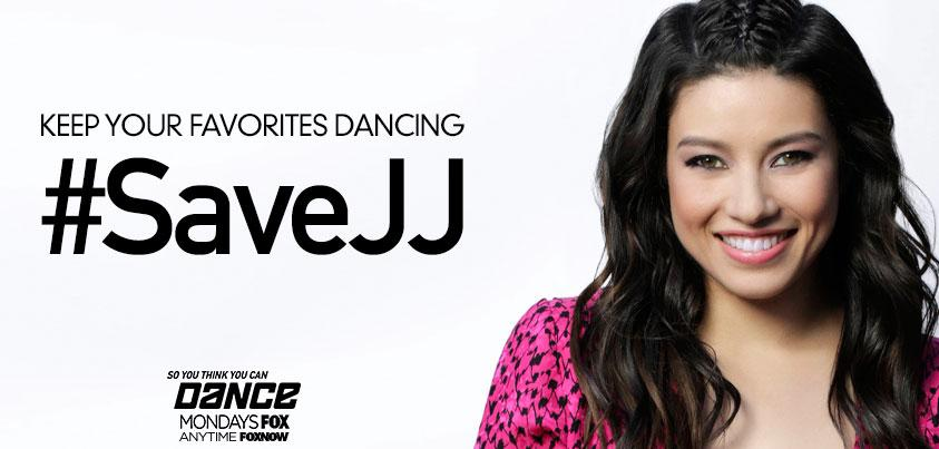 RT @DANCEonFOX: Tweet now to #SaveJJ! #SYTYCDstreet #SYTYCD http://t.co/pdIGGje0Pi