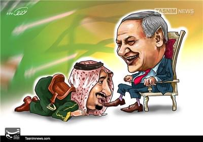 Image result for SAUDI ISRAEL CARTOON