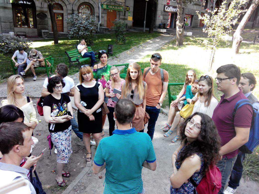Зустрічаємося з Кирилом Лукеренко з @HromadskeRadio - 25 редакторів та журналістів Школи #medianext_ua http://t.co/Tg95d8XOjv