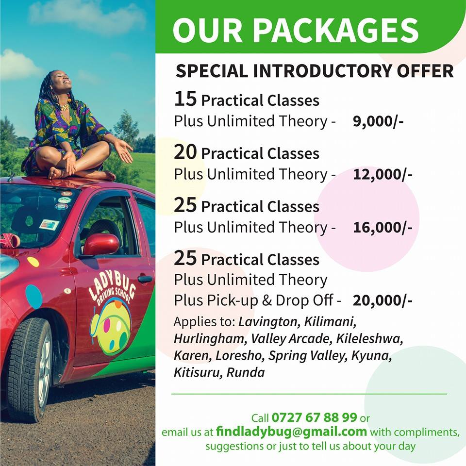 Arcade Driving School >> Ladybug Driving Sch On Twitter Kenya S Premier All Lady Driving