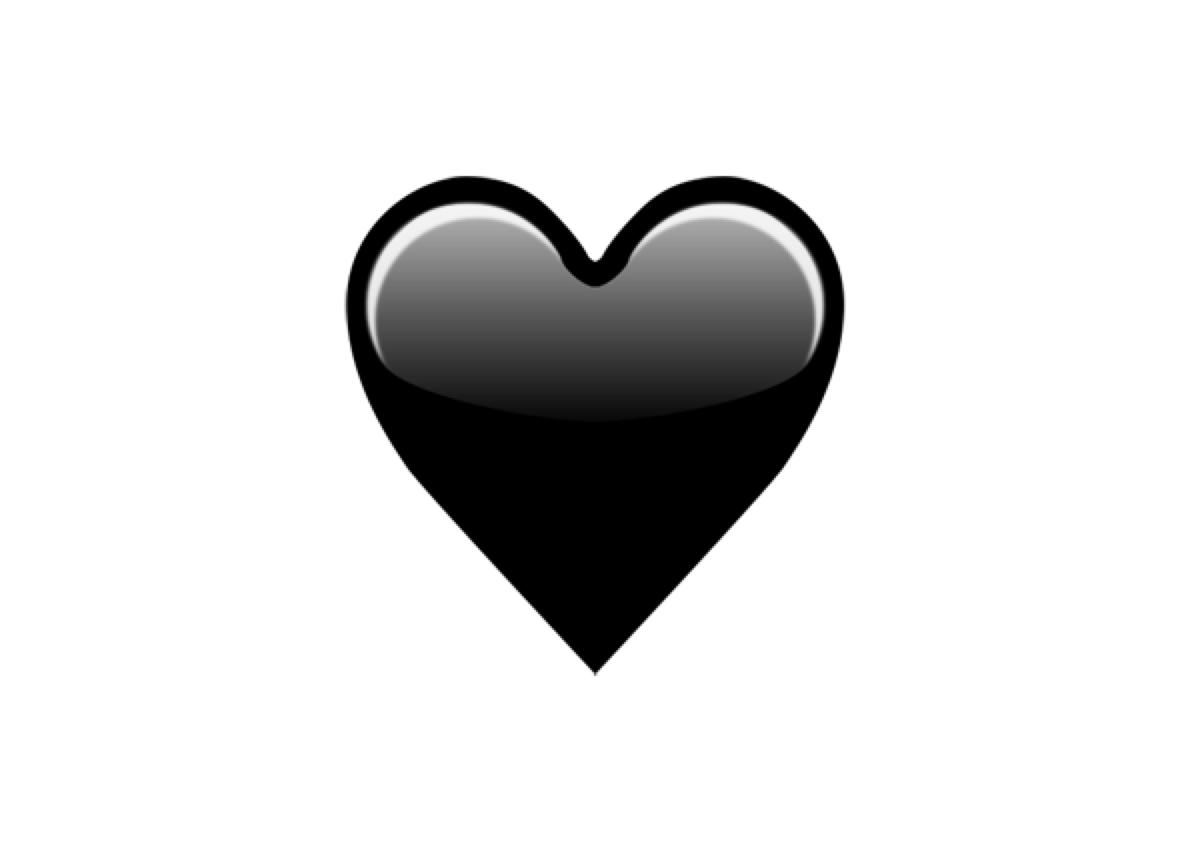 Emojipedia On Twitter Black Heart Is An Emoji Candidate For