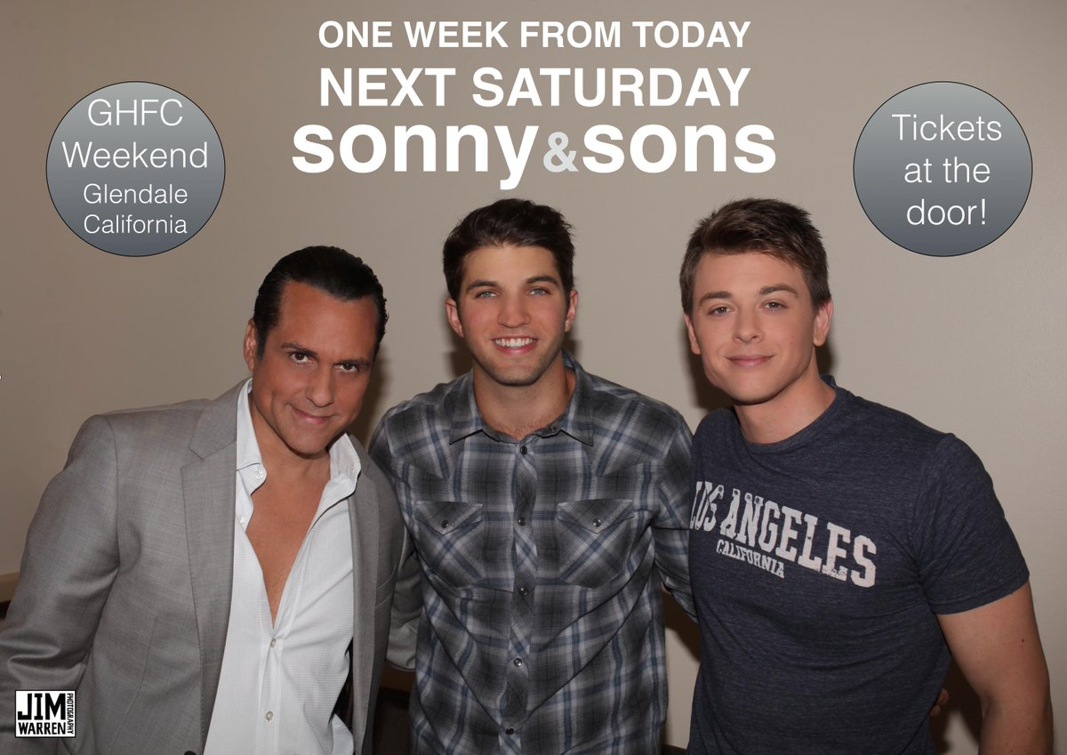 Please RT @MauriceBenard @duelly87 @bryan_craig This is happening in 5 days! #GHFCW http://t.co/i2VPXGLqaU