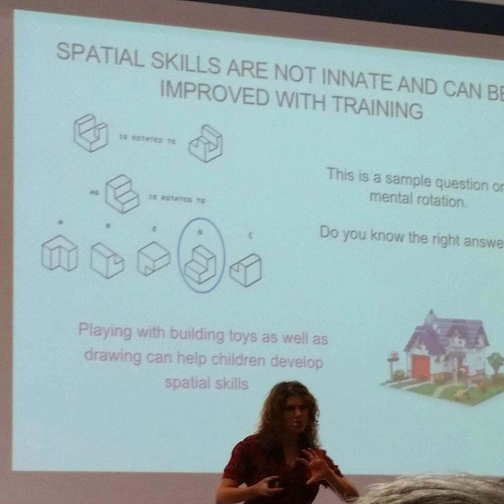 @debbiebere at #WyoSTEM references research re drawing can enhance math & spatial skills. #STEM needs #STEAM! http://t.co/QW0siOSnUP