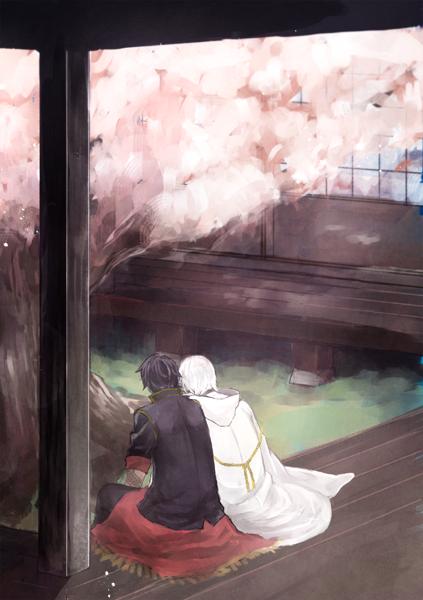 鶴丸が想像以上に儚い感じになって鼻水でそうなった表紙